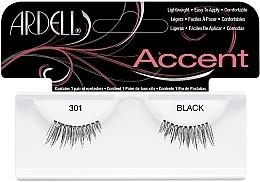 Perfumería y cosmética Pestañas postizas - Ardell Lash Accents Black 301