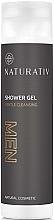 Perfumería y cosmética Gel de ducha con extractos de hibiscos y aloe - Naturativ Shower Gel For Men