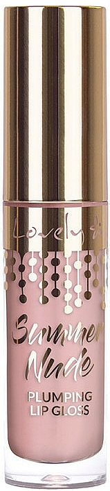Brillo labial - Lovely Summer Nude Plumping Lip Gloss