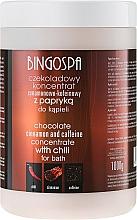 Perfumería y cosmética Concentrado de baño con manteca de cacao, cafeína y canela - BingoSpa Chocolate Cinnamon and Coffeine Concentrate For Bath
