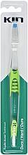 Perfumería y cosmética Cepillo dental de dureza dura, verde - Kin Toothbrush Hard