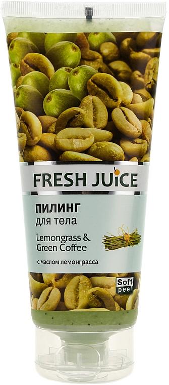 Exfoliante corporal con citronela & café verde - Fresh Juice Lemongrass Green Coffee