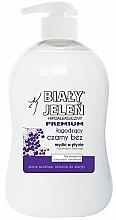 Perfumería y cosmética Jabón líquido hipoalergénico con extracto de saúco - Bialy Jelen Hypoallergenic Premium Soap Extract From Elderberry