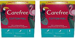Perfumería y cosmética Salvaslips de algodón, protección duradera - Carefree Cotton Feel