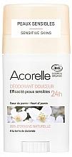 Perfumería y cosmética Desodorante stick orgánico para piel sensible, corazón de jazmín - Acorelle Deodorant Stick Gel Heart Of Jasmine