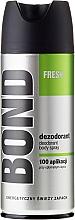Perfumería y cosmética Desodorante spray - Bond Fresh Deo Spray
