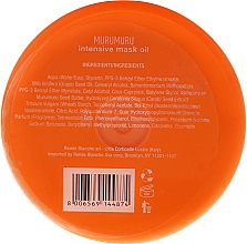 Mascarilla capilar hidratante con aceite de murumuru - H.Zone Murumuru Intensive Mask Oil — imagen N2