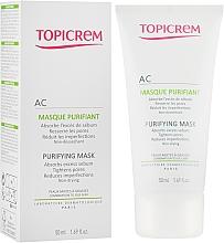 Perfumería y cosmética Mascarilla facial purificante con arcilla y glicerina - Topicrem AC Purifying Mask