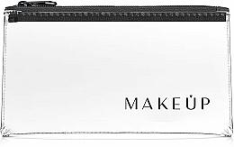 Perfumería y cosmética Neceser cosmético, transparente, (20x10cm) - MakeUp Flat Glow
