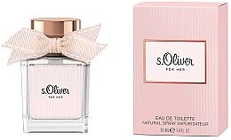 Perfumería y cosmética S.Oliver For Her - Eau de toilette