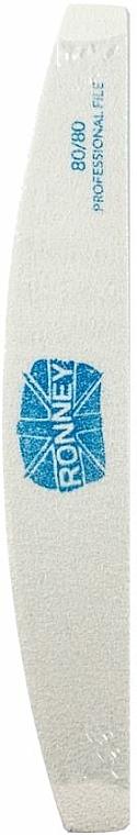 Lima de uñas, luna, 80/80 blanca - Ronney Professional