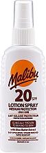 Perfumería y cosmética Spray loción corporal - Malibu Lotion Spray SPF20