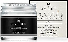 Perfumería y cosmética Crema reafirmante para cuello con ácido hialurónico - Avant Skincare Full Neck Tightening and Firming Treatment