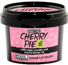 Perfumería y cosmética Exfoliante labial natural de azúcar con aceite de cereza - Beauty Jar Cherry Pie Sugar Lip Polish