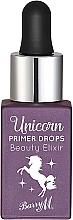 Perfumería y cosmética Prebase de maquillaje elixir iluminadora e hidratante, sin aceites - Barry M Beauty Elixir Unicorn Primer Drops