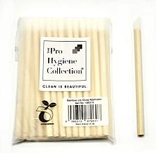 Perfumería y cosmética Aplicador de labiales ecológico desechable de madera de bambú, 93mm, 4 mm diámetro - The Pro Hygiene Collection