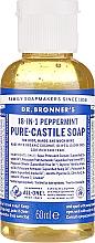 Perfumería y cosmética Jabón líquido de coco, oliva y jojoba con menta - Dr. Bronner's 18-in-1 Pure Castile Soap Peppermint