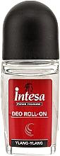 Perfumería y cosmética Desodorante antitranspirante roll-on con ylang-ylang - Intesa Classic Black Ylang-Ylang Deo Roll-On