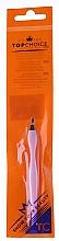 Perfumería y cosmética Cortacutículas con mango de plástico 7248, rosa claro - Top Choice