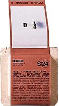 Perfumería y cosmética Jabón corporal con levadura y cafeína - Toun28 S24 Yeast + Coffee Body Wash Soap