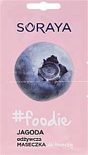 Perfumería y cosmética Mascarilla facial con extracto de arándano - Soraya Foodie Nourishing Face Mask