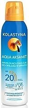 Perfumería y cosmética Protector solar hidratante en spray - Kolastyna Aqua Aksamit SPF 20