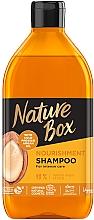 Perfumería y cosmética Champú natural nutritivo con aceite de argán - Nature Box Nourishment Vegan Shampoo With Cold Pressed Argan Oil