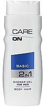 Perfumería y cosmética Gel de ducha 2 en 1 para hombre - Care On Basic Gel Shower