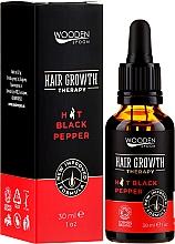 Perfumería y cosmética Sérum para crecimiento de cabello con aceite de baobab y cedro - Wooden Spoon Hair Growth Serum