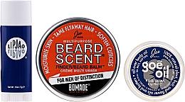 Perfumería y cosmética Set (bálsamo de barba/18g+ manteca/6.5gr+ bálsamo labial/5gr) - Jao Brand Suave Salve Pak
