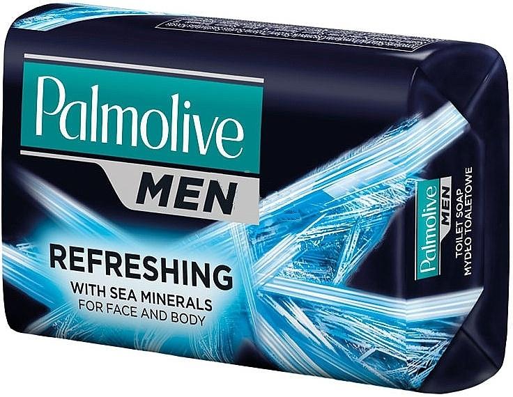 Jabón refrescante para rostro y cuerpo con minerales marinos - Palmolive Man