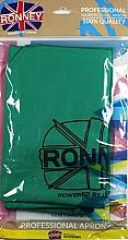 Perfumería y cosmética Capa de peluquería, verde - Ronney Professional Hairdressing Apron Green