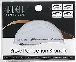 Perfumería y cosmética Plantillas para cejas - Ardell Brow Perfection Stencils