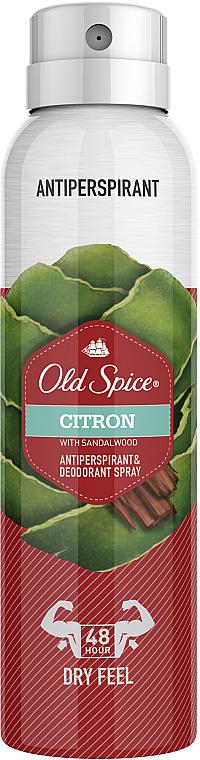 Desodorante antitranspirante en spray - Old Spice Citron Dezodorant Spray