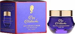 Perfumería y cosmética Crema facial antiarrugas con ácido hialurónico - Pani Walewska Classic Anti-Wrinkle Day And Night Cream