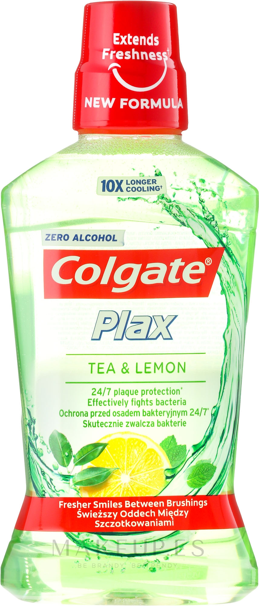 """Enjuague bucal """"té y limón"""" - Colgate Plax Tea&Lemon — imagen 500 ml"""
