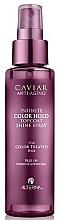 Perfumería y cosmética Spray para brillo del cabello con extracto de caviar - Alterna Caviar Anti-Aging Infinite Color Hold Topcoat Shine Spray
