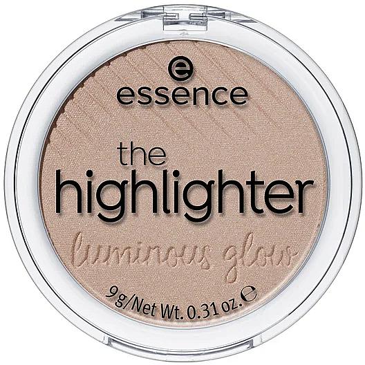 Iluminador facial - Essence The Highlighter Lumirous Glow