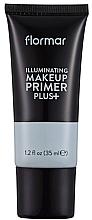 Perfumería y cosmética Prebase de maquillaje iluminadora - Flormar Illuminating Make Up Primer Plus