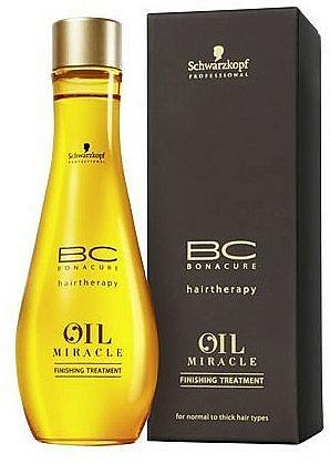 Aceite para cabello con argán, sin aclarado - Schwarzkopf Professional Bonacure BC