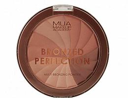 Perfumería y cosmética Polvo bronceador facial compacto - MUA Bronzed Perfection Multi Bronzing Powder