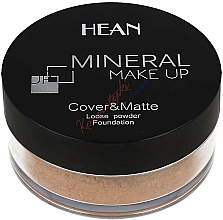 Perfumería y cosmética Polvo suelto de maquillaje mineral mate - Hean Mineral Make Up Cover&Matte Loose Mineral Powder