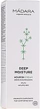 Perfumería y cosmética Crema facial nutritiva con extractos orgánicos de aloe y aceite de jojoba - Madara Cosmetics EcoFace