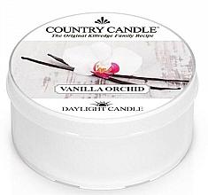 Perfumería y cosmética Vela de té con aroma a vainilla y orquídea - Country Candle Vanilla Orchid Daylight