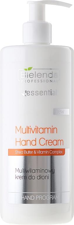 Crema de manos con manteca de karité y multivitaminas - Bielenda Professional Multivitamin Hand Cream — imagen N3