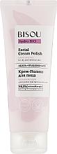 Perfumería y cosmética Crema facial hidratante con micropartículas de silicio - Bisou Hydro Bio Facial Cream Polish