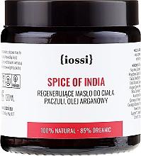 Perfumería y cosmética Manteca corporal regeneradora con pachulí & aceite de argán - Iossi Regenerating Body Butter