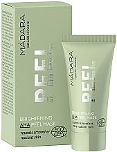 Perfumería y cosmética Mascarilla facial exfoliante con ácidos frutales, ácido láctico y saúco - Madara Cosmetics Brightening AHA Peel Mask