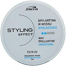 Perfumería y cosmética Cera para cabello, efecto duradero y brillo - Joanna Styling Effect Wax Brilliantine