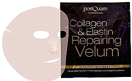 Velo reparador con colágeno & elastina - Postquam Facial Collagen & Elastin Repairing Velum Face Mask — imagen N1